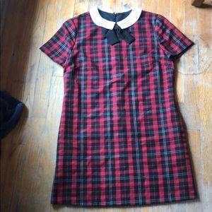 Forever 21 plaid shirt dress